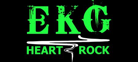 EKG heart rock