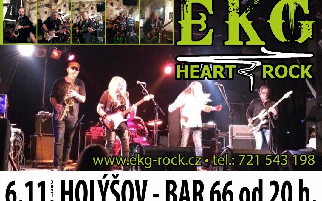 EKG heart rock Holýšov 06.11.2021